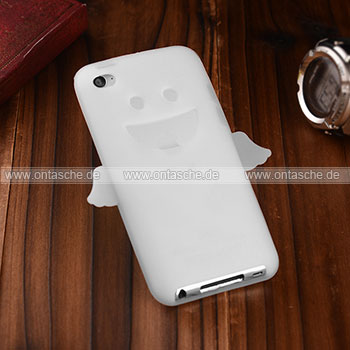 Apple ipod touch 4 engel silikon h lle schutzh lle tasche for Housse ipod classic