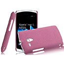 Sony Xperia Neo L MT25i Treibsand Schutzhülle Tasche Hülle Cover - Hot Pink